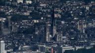 Rouen  - Aerial View - Haute-Normandie, Seine-Maritime, Arrondissement de Rouen, France video