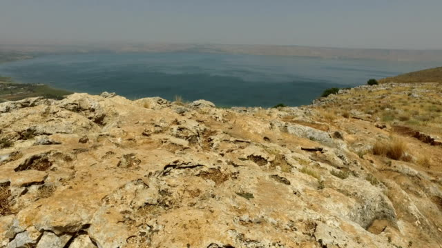 Rough Landscape on Top of Mountain in Israel video