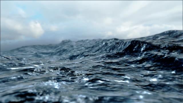 Rough Sea Loop video