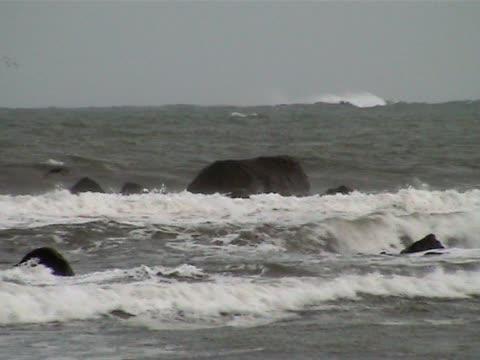 Rough sea video