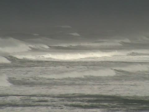 Rough sea video