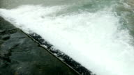 rough water rapids on the diagonal in Abkhazia video