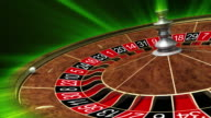 Roulette wheel. Full HD. 3D animation video