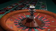 Roulette Wheel Spin (HD) video