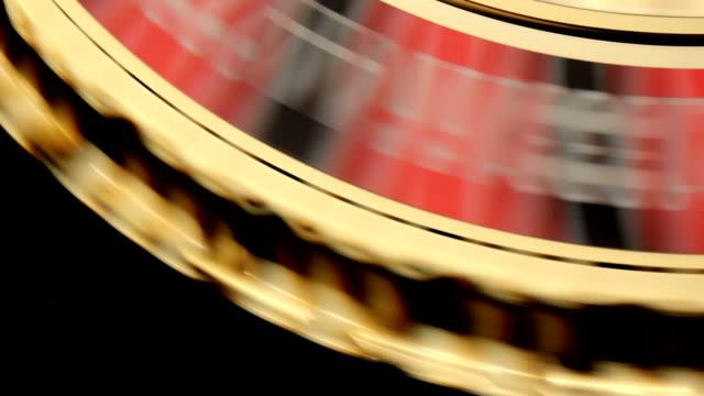 Roulette wheel video