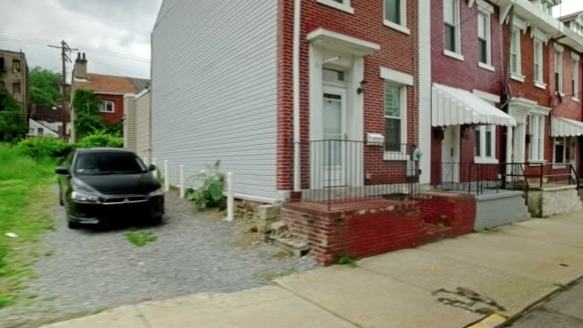 Row Houses on Pittsburgh's Hill District video