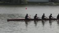 HD Row Team Gliding By video