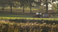 Row-crop sprayer video