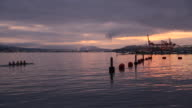 Rowers, Coal Harbor Dawn, Vancouver video