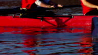 Rowers on a river video