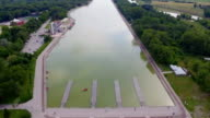 Rowing channel in Plovdiv video