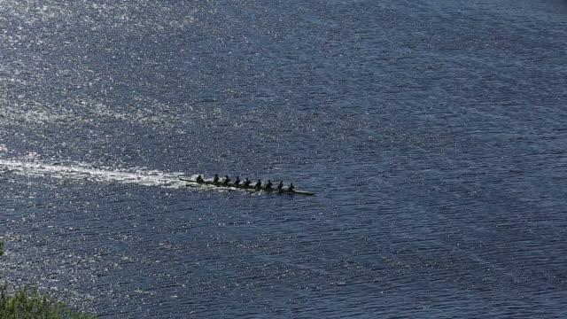 Rowing team video