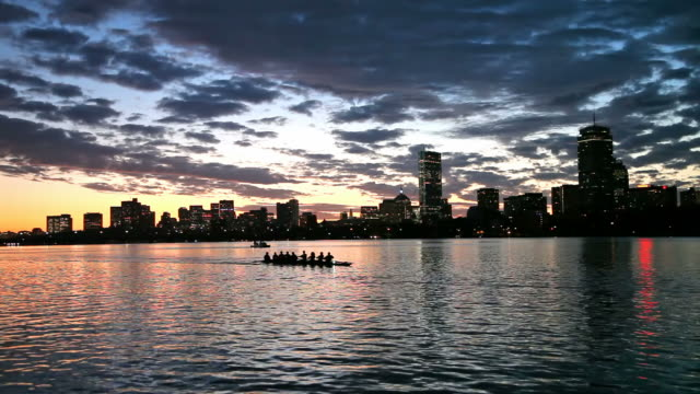 Rowing the Charles River, Boston video