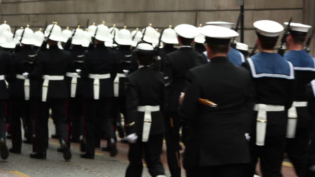 Royal Navy in March / Parade - HD & PAL video