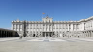 Royal Palace or Palacio Real in Madrid video