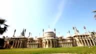 Royal Pavilion panning down video