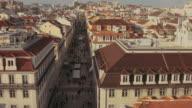 Rua Augusta in Lisbon video