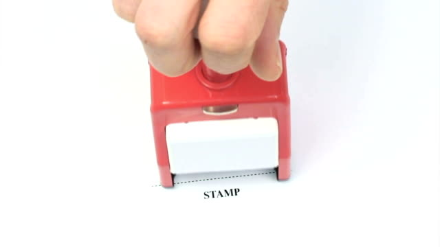 Rubber Stamp Approved video