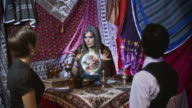 Rude Gypsy Fortune Teller on the Phone video