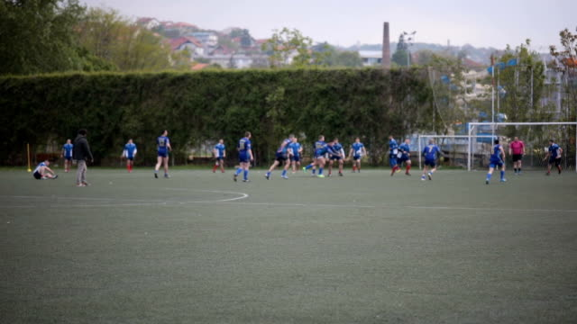 Rugby match video