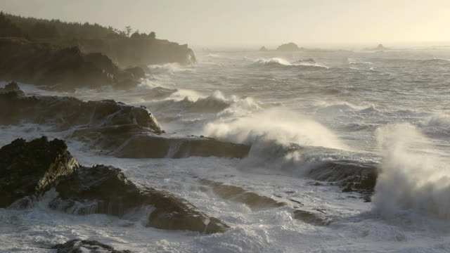 Rugged Oregon Coast video