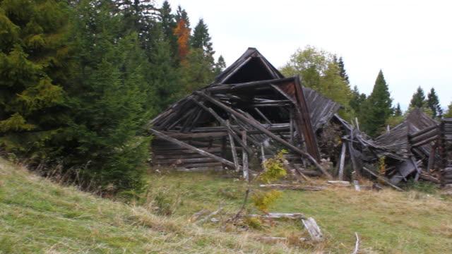 Ruined Mountain Hut video