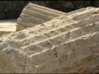 Ruined Roman Pillars of Beth Shean video