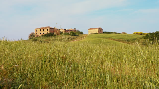 DS Ruins in Tuscany countryside video