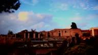 Ruins of Pompei video