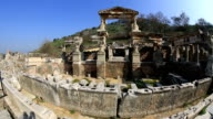 ruins of the ancient Ephesus video