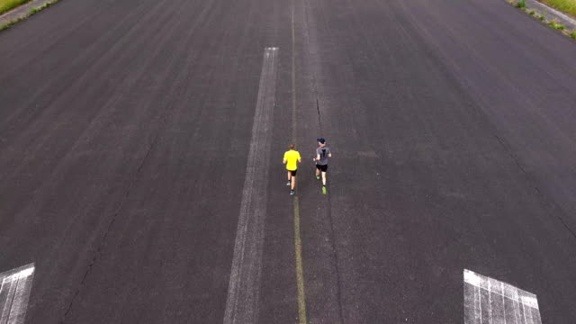 Runners from above video