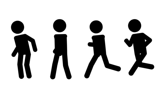 Running and Walking video