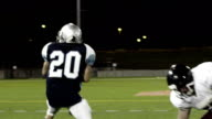 Running back dodges defender video