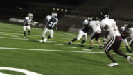 Running back fumbles the pitch video