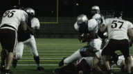 Running back rolls in for touchdown video
