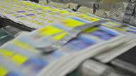Running Belt with Offset Prints - Stock Video video