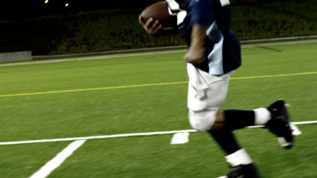 Running down the sidelines video