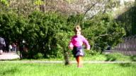 running girl video