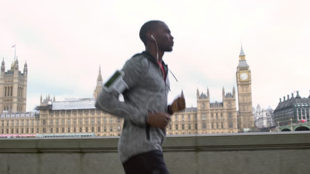Running in London video