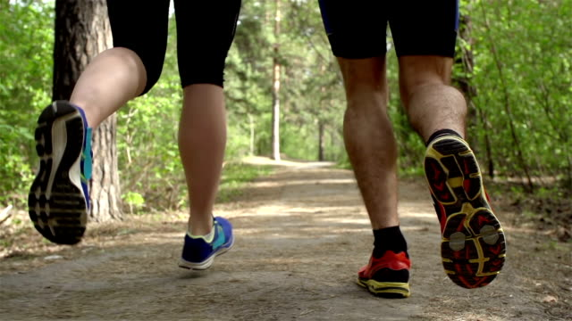 Running in Park video