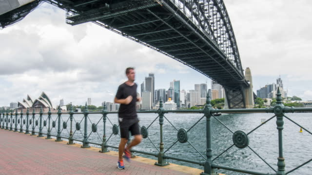 Running in Sydney video