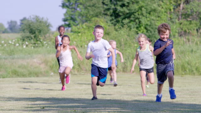Running in the Yard at Recess video