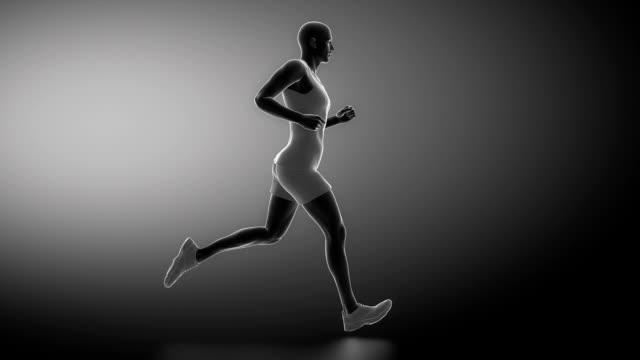 Running man ankle anatomy video