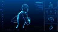 Running Man   Digital Interface   Loopable video