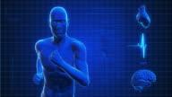 Running Man | Digital Interface | Loopable video