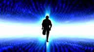 Running through the digital world video