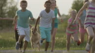 Running with the Dog video