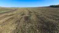 Rural landscape, aerial video video