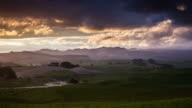 TIME LAPSE: Rural Landscape Dramatic Sky video