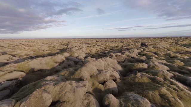 Rural lava landscape video